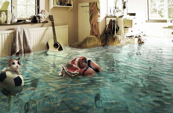потоп в квартире что делать